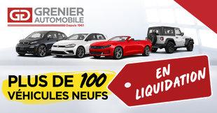 Plus de 100 véhicules neufs en inventaire !