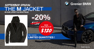 BMW M Jacket promotion