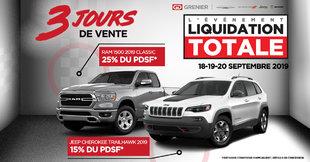 Liquidation Totale Grenier Chrysler