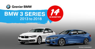 BMW 3 series in stock