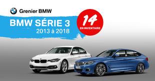 BMW Série 3 en inventaire