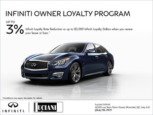 Infiniti Owner Loyalty Program