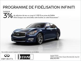 Programme de fidélisation Infiniti
