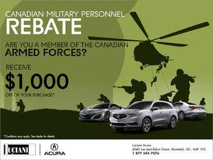 Canadian Military Personnel Rebate