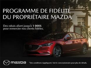 Mazda Drummondville - Programme de fidélité du propriétaire Mazda