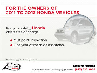 Attention 2011-2013 Honda Owners