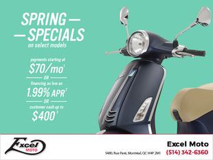 Vespa Spring Specials