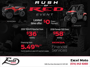 Honda: Rush the Red Event