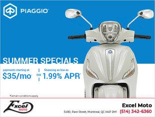 Piaggio Summer Specials