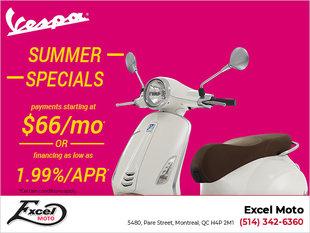Vespa Summer Specials