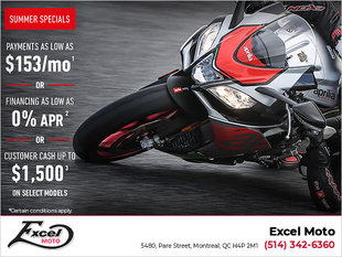 Summer Aprilia Offers You Cannot Miss!