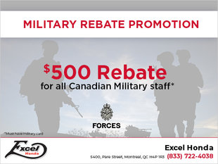 Military Rebate Promotion