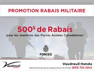 Promotion rabais militaire (Copie) (Copie)