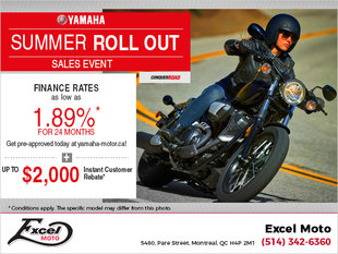 Yamaha Summer Roll Out