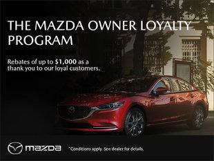 Truro Mazda - Mazda Owner Loyalty Program