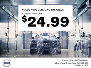 Volvo Detailing Packages