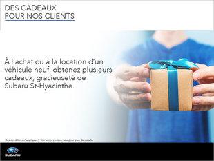 Des cadeaux pour nos clients