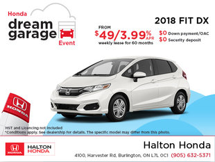 Lease the 2018 Honda Fit!