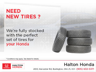 New Tires For Your Honda!