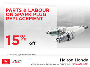 Save On Your Spark Plug Replacement!