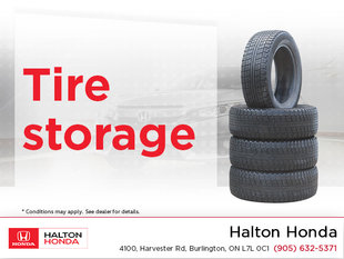 Get Your Tires Stored!