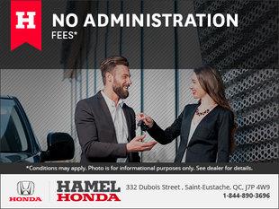 No Administration Fees