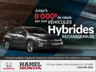Économisez sur nos véhicules hybrides