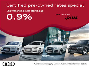 Certified pre-owned rates special
