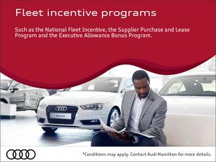 Audi fleet incentives
