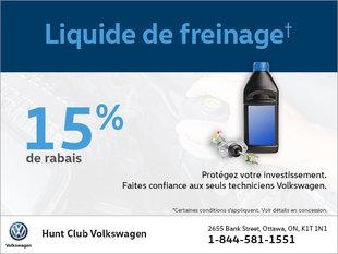 Économisez sur le liquide de freinage!