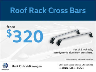 Get Roof Rack Cross Bars from $320!