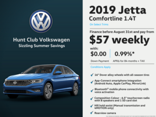 2019 Jetta - Deal of the month