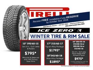 Winter Tire & Rim Sale