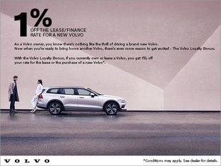 Volvo Loyalty Bonus