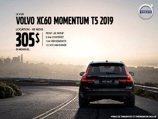 Rabais Volvo XC60 - Juin 2019
