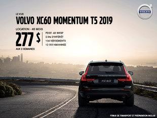 Rabais Volvo XC60 - Août 2019