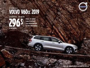 Rabais Volvo V60 Cross Country - Juin 2019