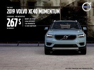 Volvo XC40 Promotion - July 2019