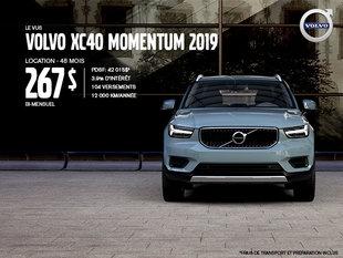 Rabais Volvo XC40 - Juin 2019