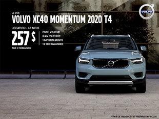 Rabais Volvo XC40 - Août 2019