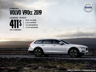 Rabais Volvo V90 Cross Country - Août 2019