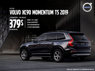 Rabais Volvo XC90 - Mai 2019