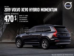 Volvo XC90 hybrid Promotion - August 2019