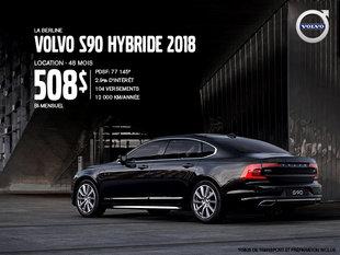 Rabais Volvo S90 hybride - Juin 2019