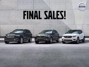 Final sale new Volvo