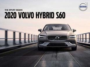 Volvo S60 hybrid promotion - August 2019