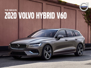 Volvo V60 hybrid promotion - August 2019