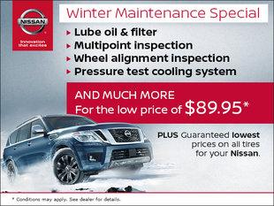 Winter Maintenance Special