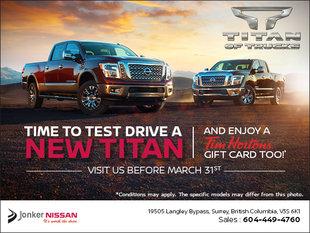 Titan Test Drive