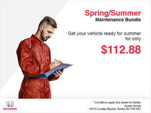 Spring/Summer Maintenance Bundle